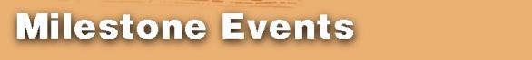 milestone events